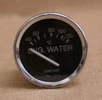 Vattentempmätare 40-120C 52mm svart