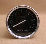 Varvräknare 85 mm 6000 rpm svart