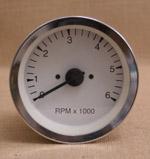 Varvräknare 100 mm 6000 rpm vit