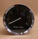 Varvräknare 100 mm 6000 rpm svart
