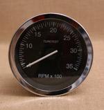 Varvräknare 100 mm 3500 rpm svart