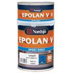 Epolan V Epoxi Golv Mellangrå 0,8l