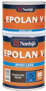 Epolan V Epoxi Lack Färglös 0,8l