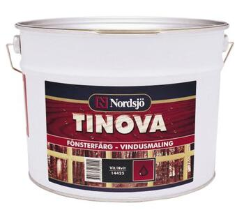 Tinova Fönsterfärg Vit 2,5l