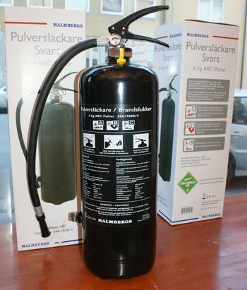 Brandsläckare 6kg