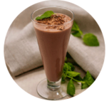 Mintchoklad shake