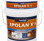Epolan V Epoxi Golv Mellangrå 4l